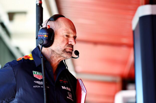 Red Bull-man Newey haalt uit: 'Denk niet dat dat de bedoeling is'