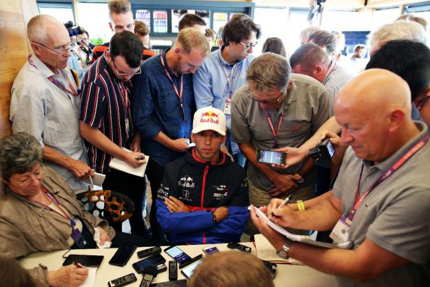 Gasly denkt na over vertrek Red Bull-concern: 'Heb ook andere mogelijkheden'