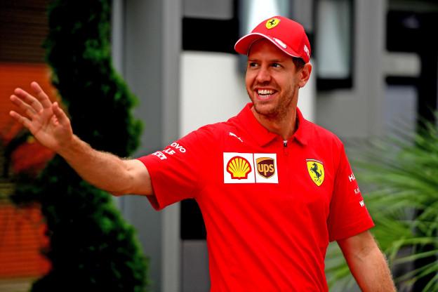 Het afscheidscadeau van Vettel: 'Hij dwong Ferrari een persbericht te versturen'