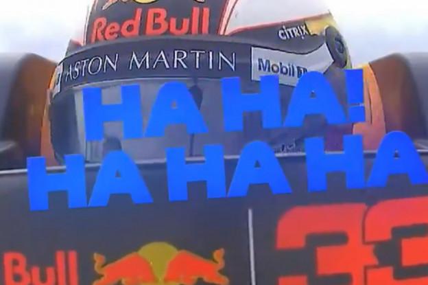 Video | Boordradio Verstappen na race: 'Ha ha ha, wat een race!'