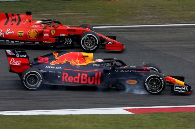 Verstappen: 'Wel de undercut op Leclerc, geen pace voor de andere Ferrari'