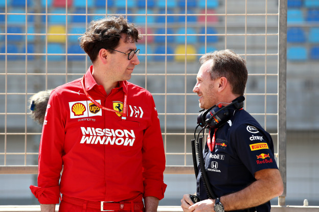 Verdeeldheid rondom 2021-bolides: 'Ferrari en Mercedes pleiten tegen, Red Bull pleit voor'