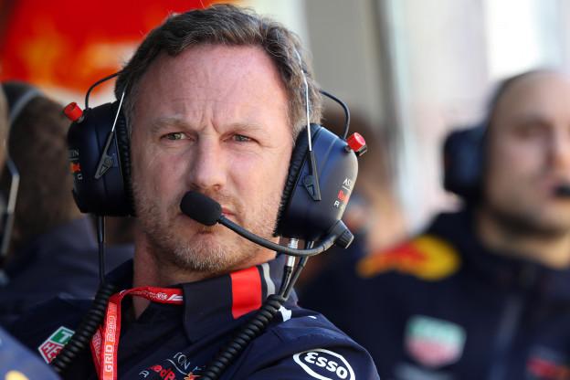 Horner looft Honda, Verstappen én Albon: 'Dat doen we met veel motivatie'