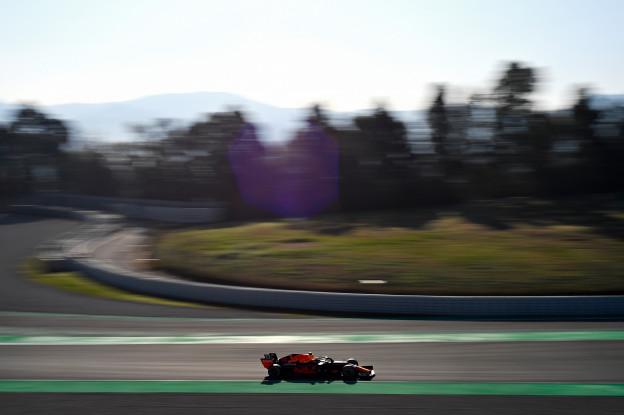 Verstappen sluit rommelige testdag van Red Bull af met P2, Kubica snelste
