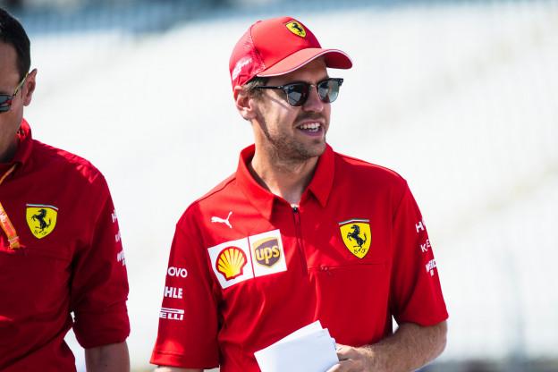 Een eventuele schorsing voor Vettel, hangt er een donkere wolk boven de Ferrari-garage?