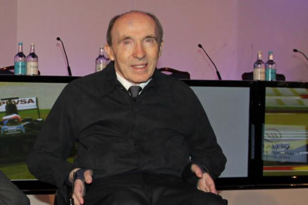 Ecclestone hoopt op een doorstart: 'Lieve oude Frank heeft zo hard gewerkt'