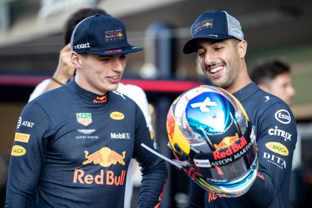 Verstappen bood Ricciardo excuses aan in 2017: 'Dat soort dingen mogen niet gebeuren'