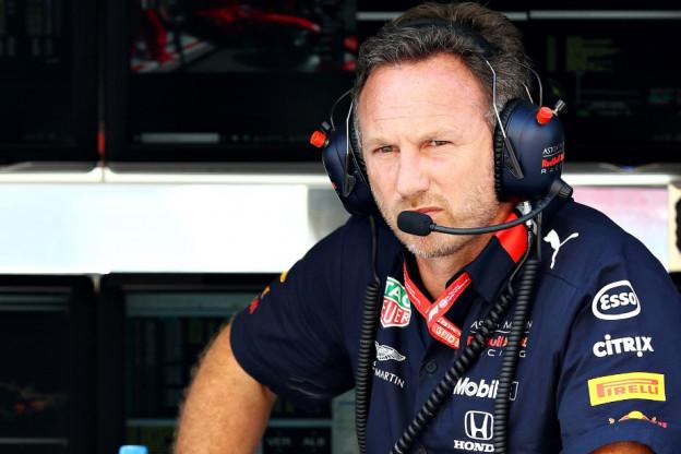 Horner over Formule 1-motoren: 'Ferrari is de benchmark, maar de rest komt dichterbij'