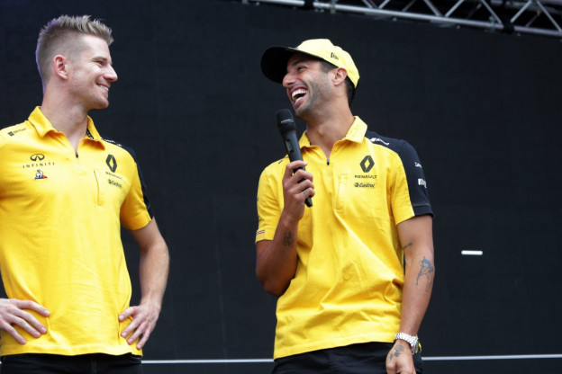 Ricciardo: 'Nieuwe teamgenoten kans om te leren'