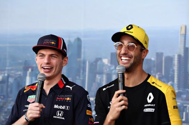 Verstappen mist Ricciardo niet: 'Hij had dit jaar niet veel kunnen bijdragen'