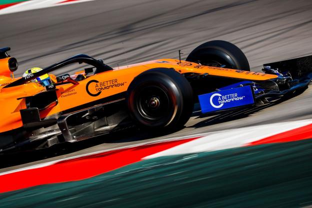 Ook McLaren ziet risico: 'Hopen dat het blijft zoals het nu is'