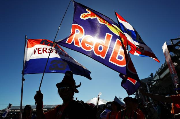 Verkoop Red Bull-blikjes in Nederland explosief gestegen door Verstappen