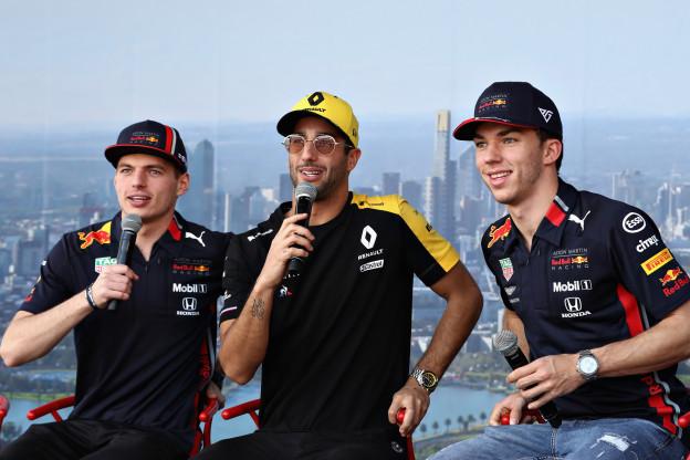 'Red Bull Racing en Verstappen missen Ricciardo; alleen Max' data is relevant'