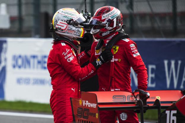 Ferrari gaat 2020 starten zonder teamorders: 'Beiden mogen voor de titel gaan'