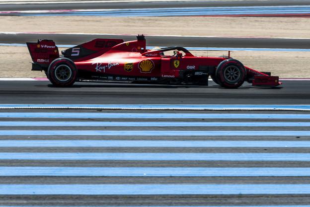 'Vettel kon Verstappen nooit meer bijhalen na inhaalslag in Frankrijk'