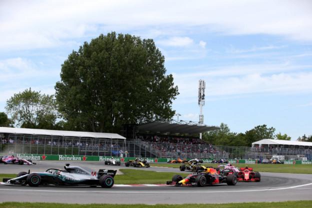 Verstappen rijdt foutloos P4 in eerste vrije training GP van Canada