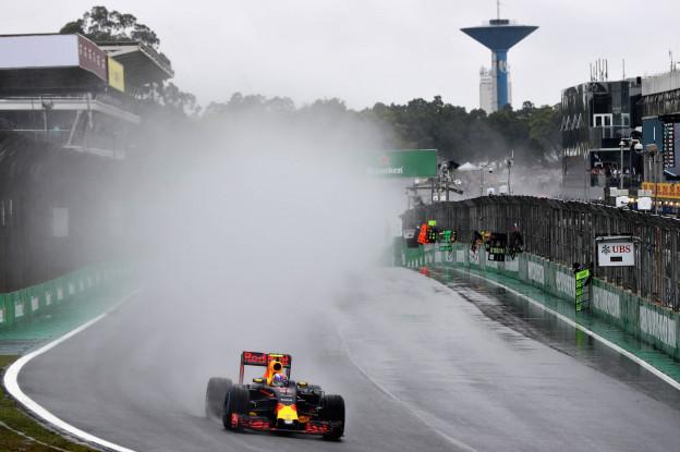 Weersverwachting GP Brazilië: Drie dagen met regen voorspeld