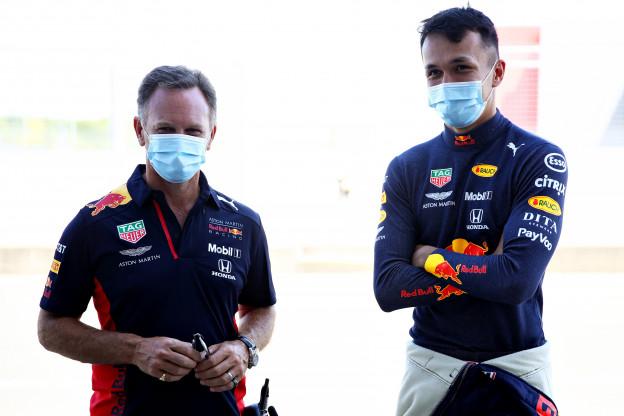 Column | Albon 'verknalde' overwinning van Verstappen