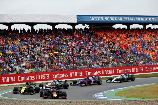 Formule 1-cijfers positief: 'Minder kijkers, meer blootstelling'