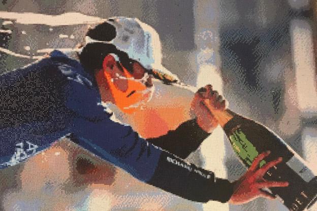 Nederlandse Kimberly gaat viraal met Norris-kunstwerk: 'Nooit verwacht'
