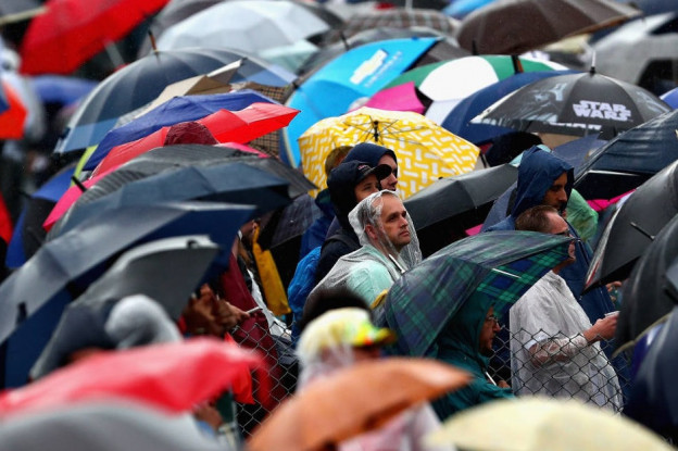 Update II | Tóch weer hele zondag regen op Monza