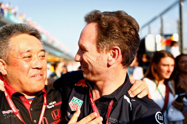 Horner hint op Honda-update én gridstraffen: 'Traditioneel een goede plaats'