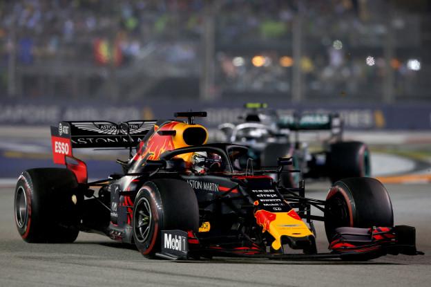 Verstappen: 'Hamilton maakte eigenlijk geen kans'