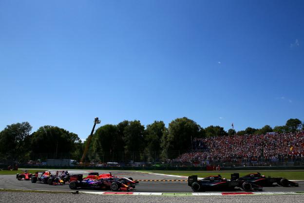 Overzicht tijden Grand Prix van Italië 2019