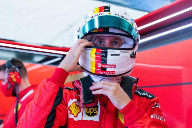 Vettel blij met nieuw chassis: 'Maar we kunnen nog niet vooraan meedoen'