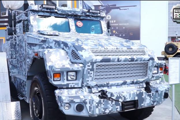 VIDEO   Moderne Russische militaire voertuigen bij de Expo ARMY-2019 in Rusland
